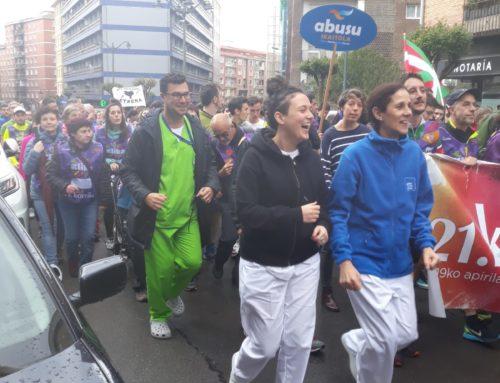 El Karmelo participa en la Korrika