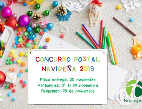 Votación del concurso postal navideña